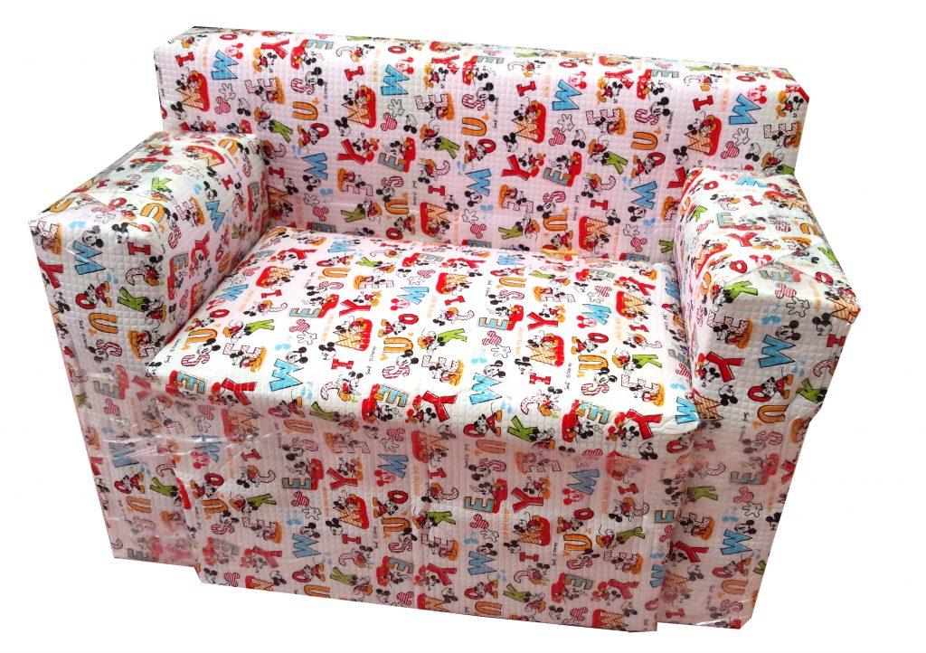 「牛乳パックを再利用して、可愛い子供用ソファーに大変身!!」のアイキャッチ