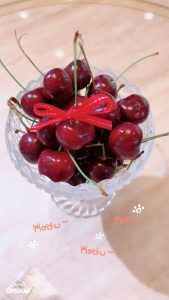 「フルーツの宝石✨特大アメリカンチェリー」のアイキャッチ