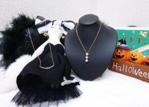 「【NEW item】プレゼントにピッタリ!K18 ダイヤモンドペンダント(ピンクゴールド) 【新入荷】」のアイキャッチ