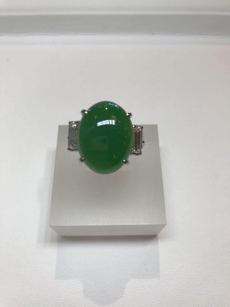「大変希少なヒスイの指輪を高額買取させていただきました⭐️」のアイキャッチ